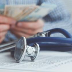 healthcare insurance money paperwork